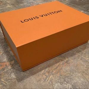 EUC LARGE Louis Vuitton Gift Box and Ribbon